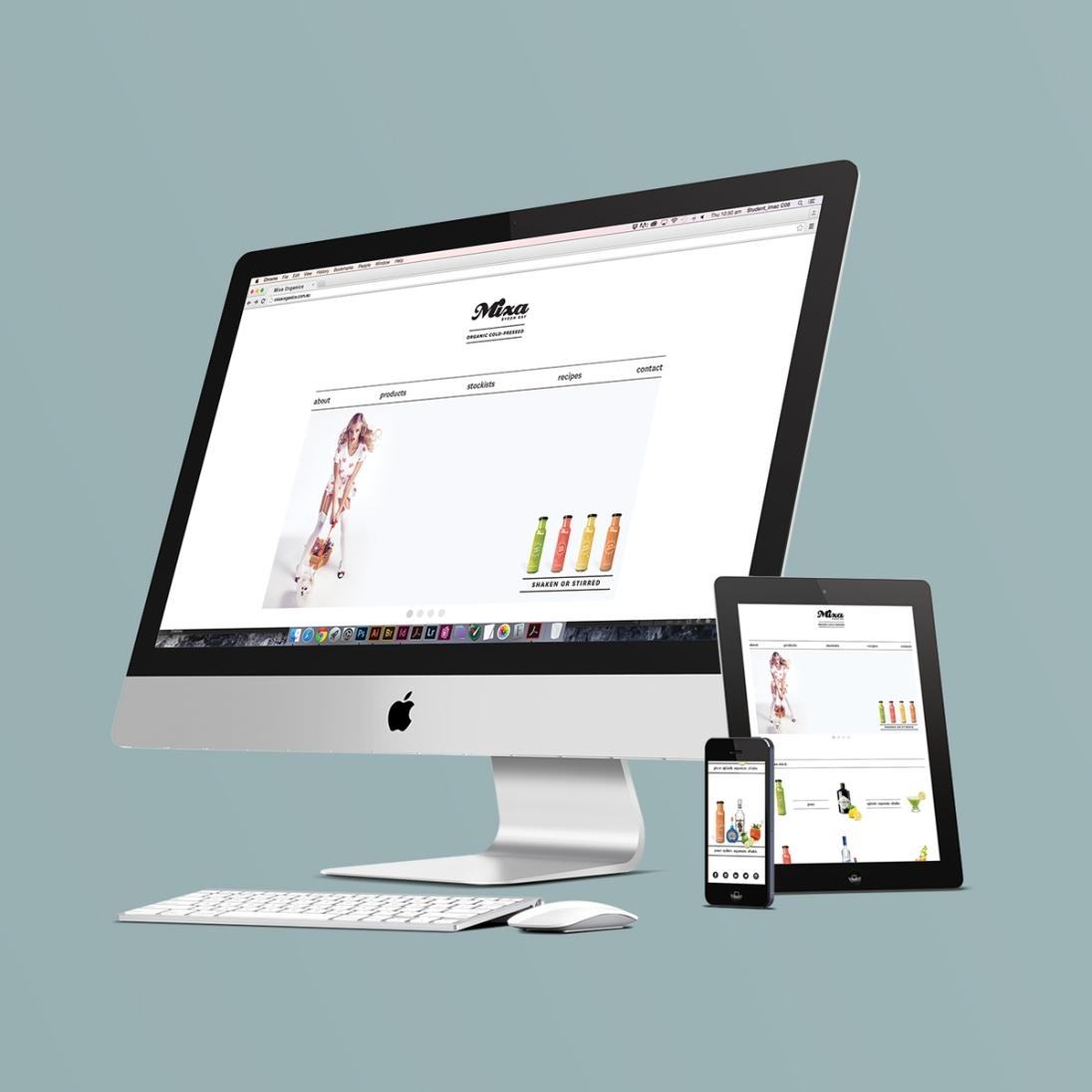 Mixa-Website