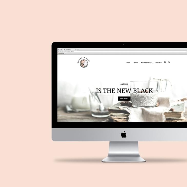OrganikAlly-Website
